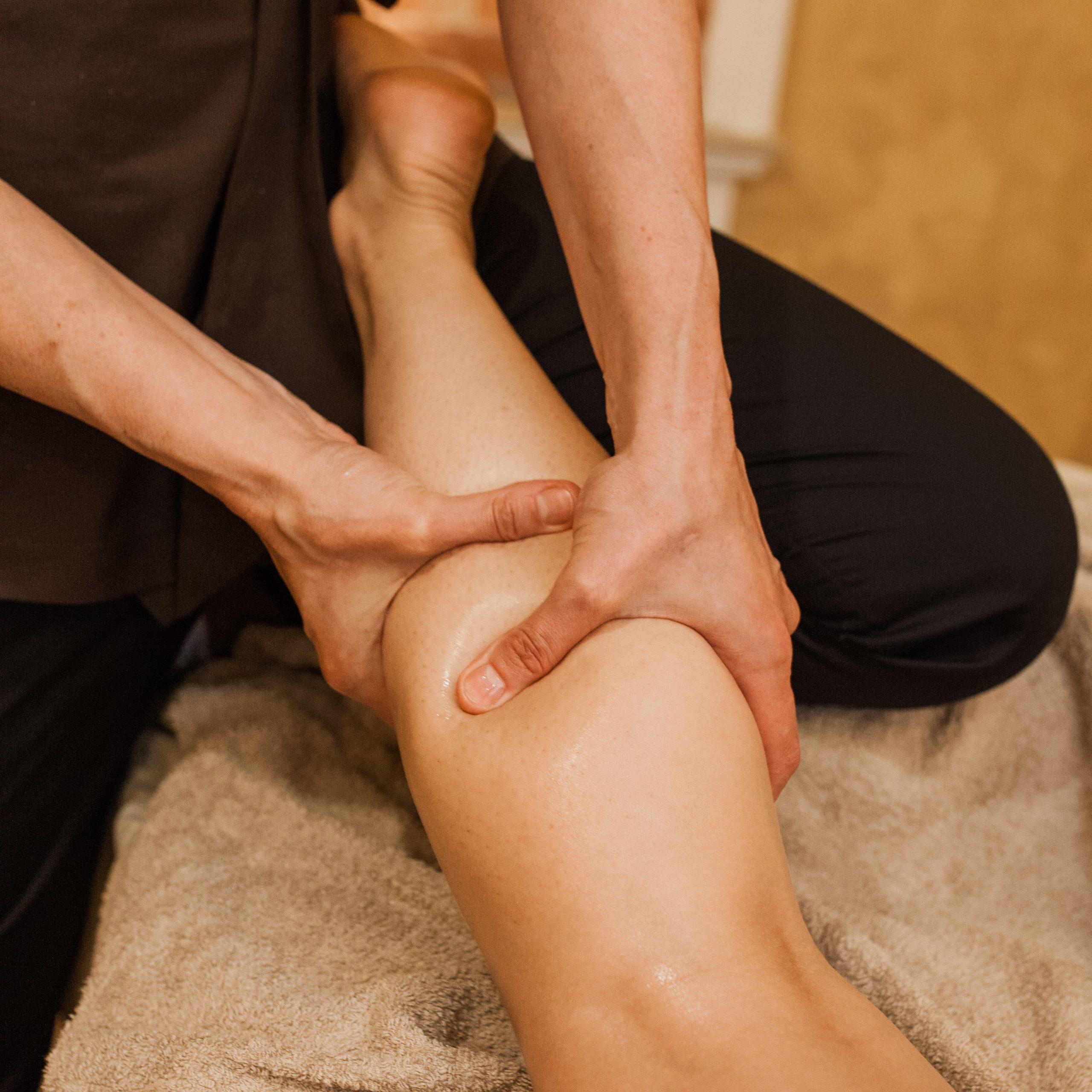 Limfodrenažinis viso kūno masažas