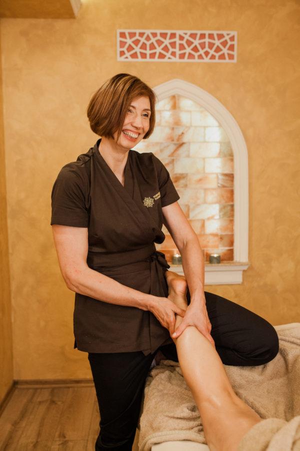 Limfodrenažinis masažas